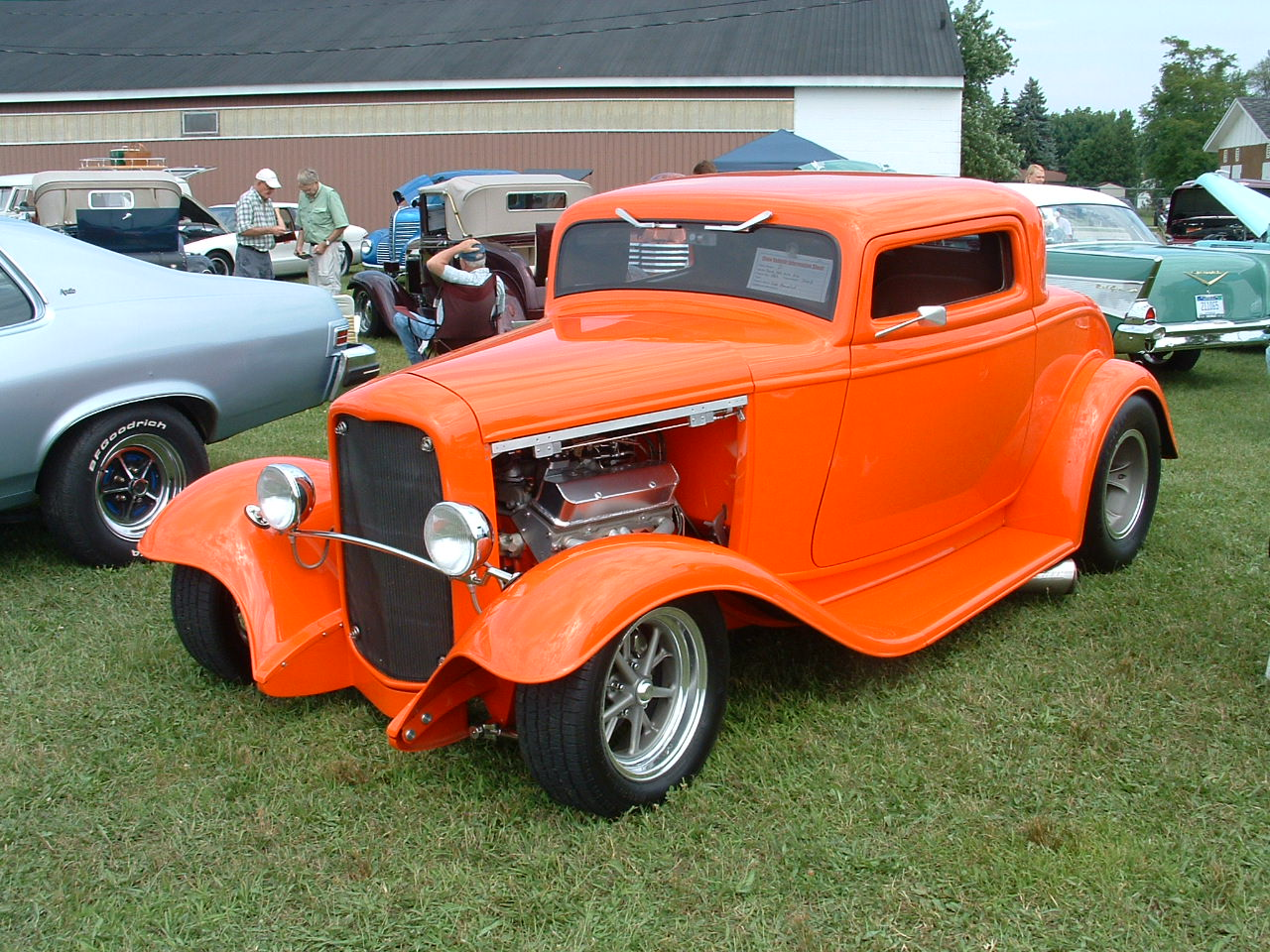 1932 Ford 3 window coupe,