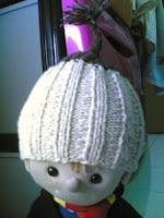 Ajeng Belajar Merajut: Rajut Free Knitting Pattern : 2-Needle Baby Hat