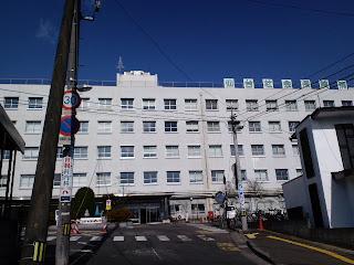 写真:仙台社会保険病院の正面入り口