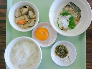 写真: 10日目の昼食