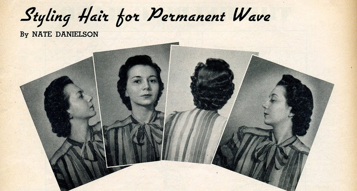 Beauty is a thing of the past: Styling Hair for Permanent Wave