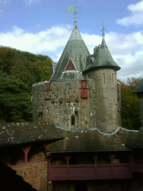 Замок Coch castle - Страница 4 Castel+Coch+Wales