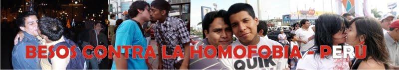 BESOS CONTRA LA HOMOFOBIA - PERU