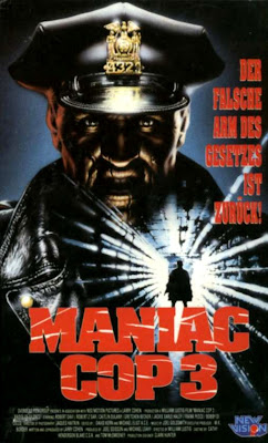 Maniac Cop III: Badge of Silence Film Poster