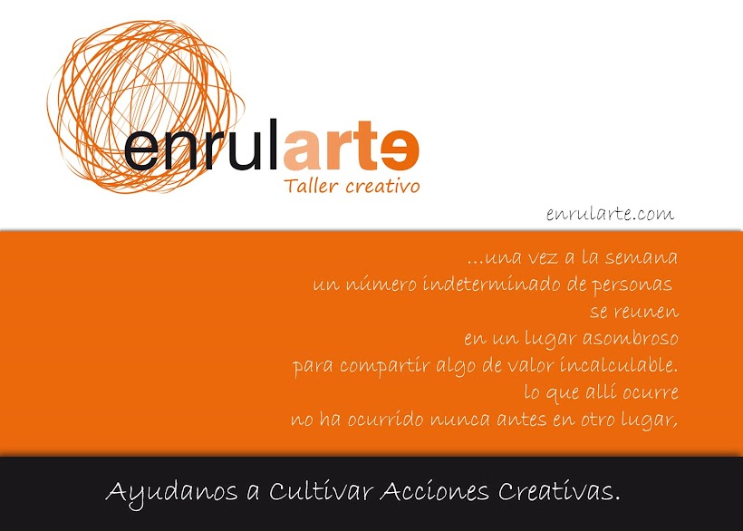 ENRULARTE TALLER CREATIVO