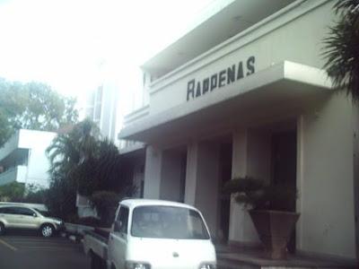 Gedung Bappenas Jl. Diponegoro Menteng Jakarta Pusat