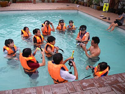 Snorkelling Training