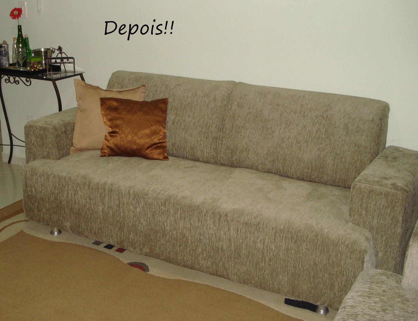 Atraiu meu olhar: ANTES e DEPOIS de um sofá laranja do móveis usados  #496024 1600x1227