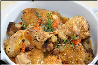 La table lorraine d 39 amelie poulet cocotte ou grand mere - Deboucher evier recette grand mere ...