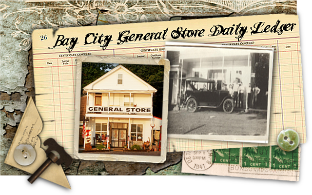 Bay City General Store Ledger