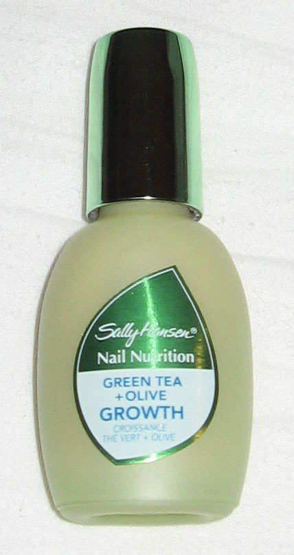 The Makeup Editor: Review: Sally Hansen Nail Nutrition Green Tea + ...