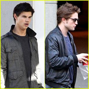 Taylor Lautner Robert Pattinson on Who Do You Think Is Hotter  Robert Pattinson Or Taylor Lautner