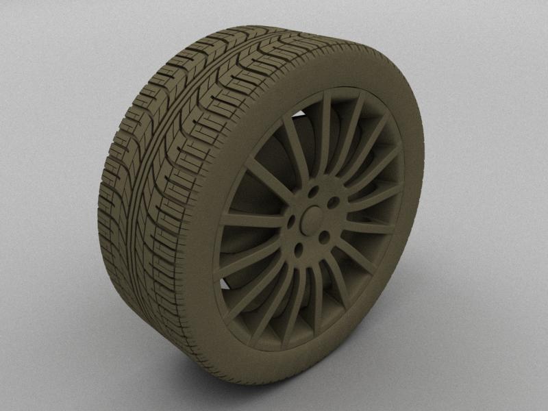 blender 4d modelisation d 39 un pneu. Black Bedroom Furniture Sets. Home Design Ideas