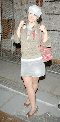 Gina Carano Jeans Skirt