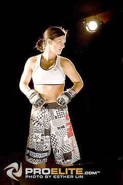 Gina Carano Fight Shorts