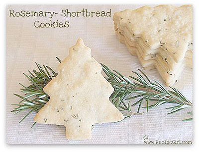 Rosemary cookies recipes