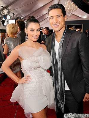 Kim Kardashian Hosted Grammy Awards Pictures