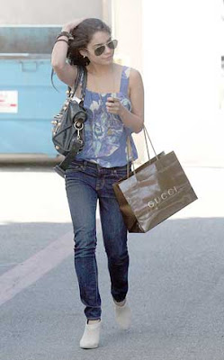 Vanessa Hudgens Script Reading West Hollywood Pics