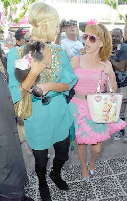 Paris Hilton Kathy Griffin Shopping Pictures