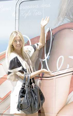 Maria Sharapova Promotional Event Cole Haan Photos