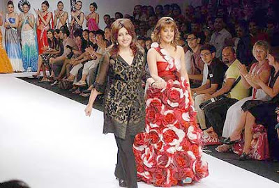 Minissha Lamba Ramp Lakme Fashion Week 2009 Pictures