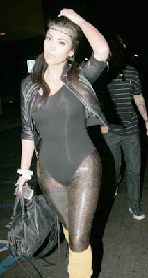 Kim Kardashian Pepsi Throwback Party Pictures