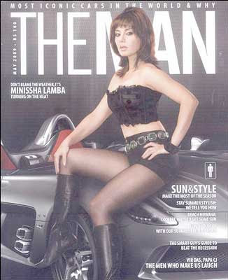 Minissha Lamba The MAN Magazine May 2009 Pics