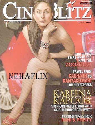 Kareena Kapoor Cineblitz Magazine India June 2009 Pictures