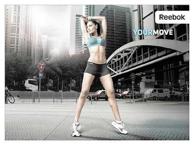 Bipasha Basu and Dhoni Reebok Ads Campaign Photos