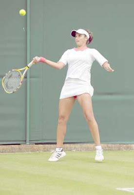 Sania Mirza Wimbledon 2009 Photos