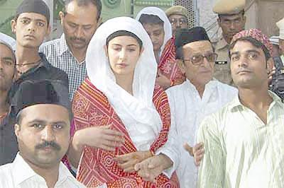 Katrina Kaif Soptted Khwaja Moinuddin Chisty