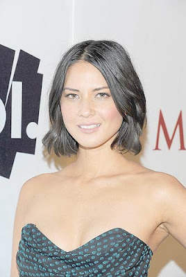 Olivia Munn and AOL At The Maxim Party