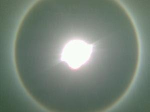Fenomena Halo Matahari Hebohkan Yogyayakarta