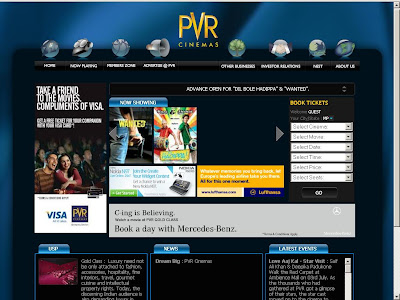 Pvr Cinemas Ticket Booking | PVR Online Booking