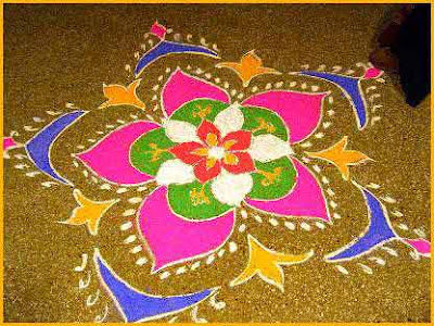 new-year-design-rangoli - Starsricha | Just another snydle.com