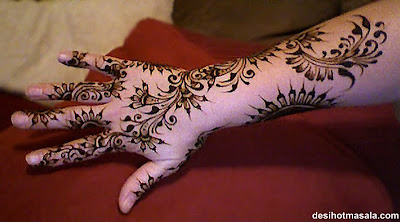 Karva Chauth Mehndi Designs Pictures