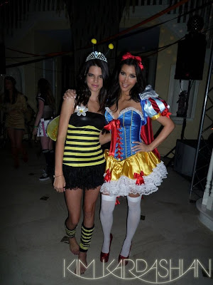 Kim Kardashian Halloween Costume 2009 Photos
