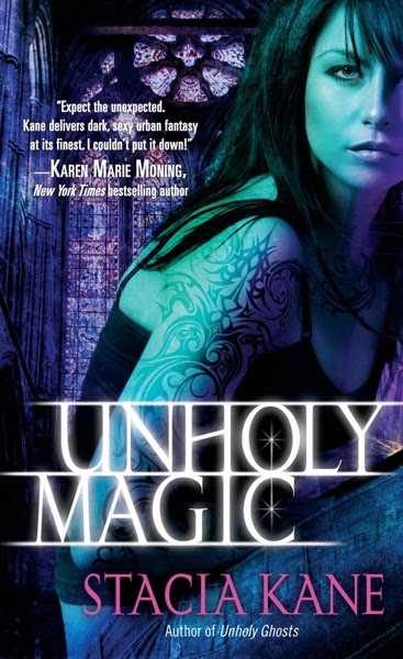 Unholy Magic (Downside Ghosts, Book 2)