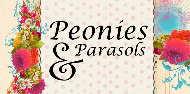 Peonies & parasols