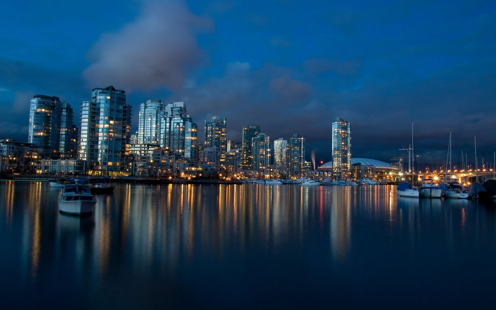 Vancouver City Nights #6975305 7 Themes