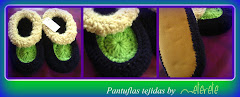 PANTUFLAS TEJIDAS by meterete