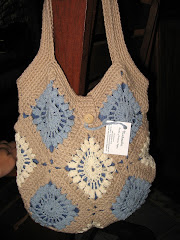 Granny Square Bag en tonos pastel