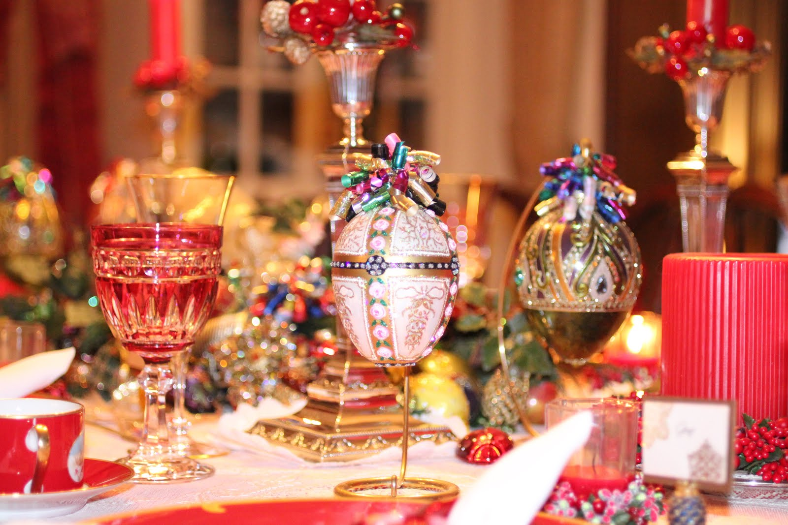 a beautiful christmas dinner party - Christmas Dinner Party