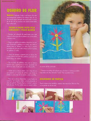artes0007 Sugestões de Atividades manuais PRIMAVERA para crianças