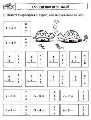 atividade+adi%C3%A7%C3%A3o+5 Atividades de Matemática: adição e subtração para crianças