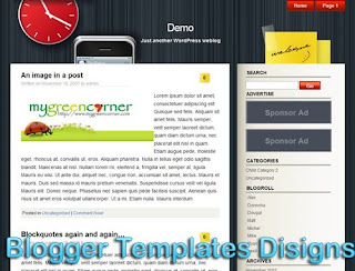Theme iWork Blogger Templates