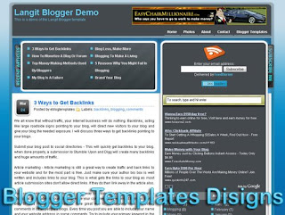 Theme Langit Blogger Templates XML Web 2.0