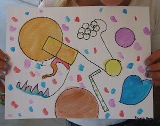 art with mrs smith kandinsky art lesson