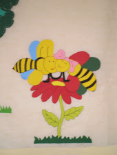 Abelhas ''decoração de sala''