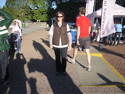 My first 5k!!!  Komen Breast Cancer Run